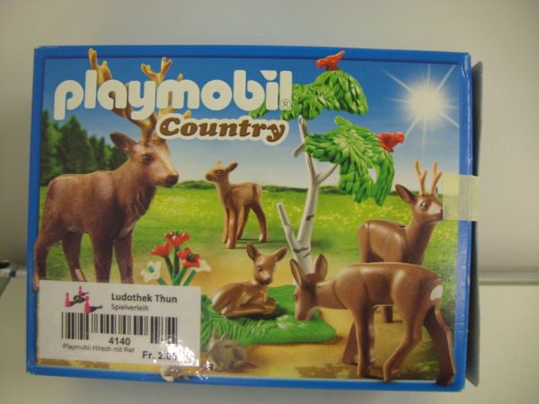 Ludothek Thun Playmobil Hirsch Mit Rehfamilie Country Playmobil